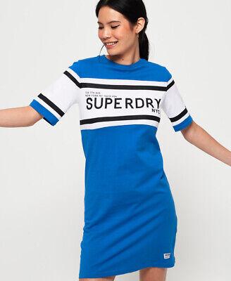 Superdry Womens Colour Block T-Shirt Dress