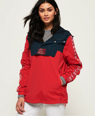 Superdry 90's Colour Block Overhead Jacket