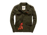 New Superdry Rookie Military Jacket