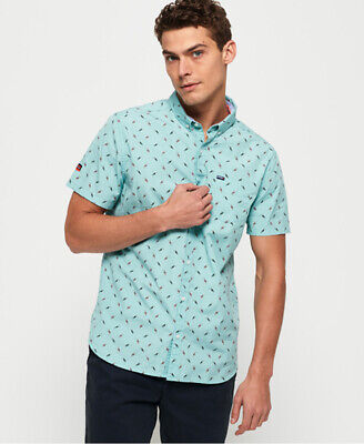 Superdry Mens Premium Shoreditch Short Sleeve Shirt
