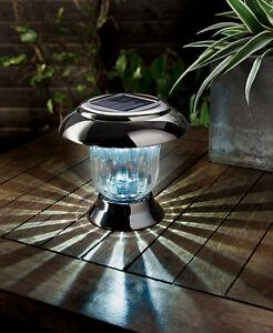 Gardman Solar Multipurpose Post and Table Light - Black Nickel