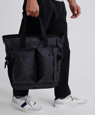 Superdry Mens Commuter Tarp Tote Bag