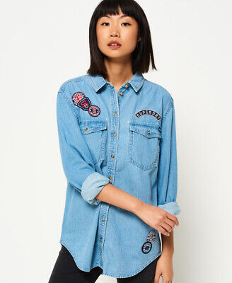 Superdry Supersize Denim Shirt
