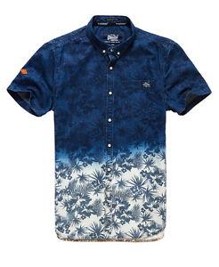Superdry-Hombre-Camisa-London-Loom-Hibiscus-Dip-Dye