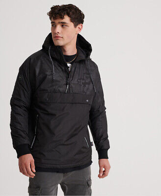Superdry Mens Surplus Goods Pop Over Hood Jacket