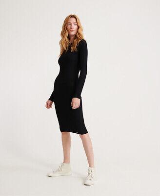 Superdry Anne Rib Bodycon Dress
