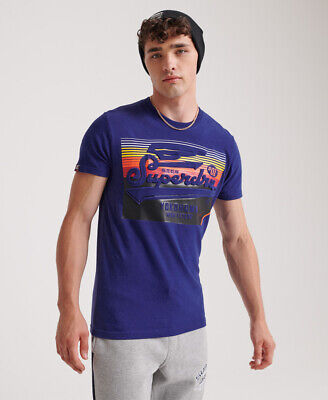 Superdry Mens Embossed Classics T-Shirt