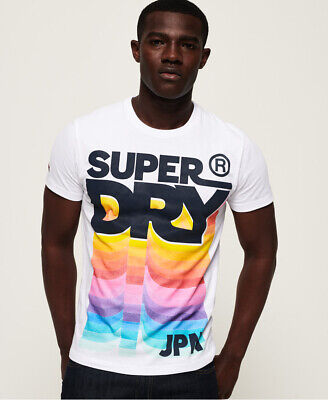 Superdry Mens Retro Mid Weight T-Shirt