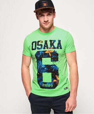 Superdry Mens Osaka Hibscus Infill T-Shirt