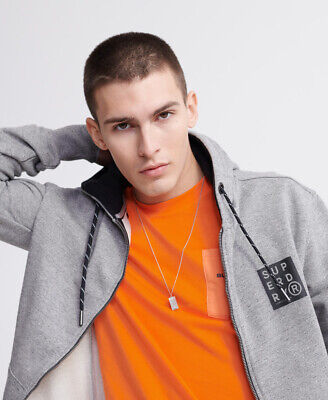 Superdry Mens Surplus Goods Loopback Zip Hoodie