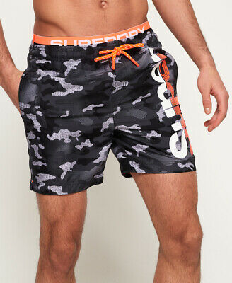 Superdry Mens Sd State Volley Swim Shorts