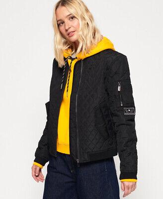 Superdry Womens Exene Quilt Bomber Jacket