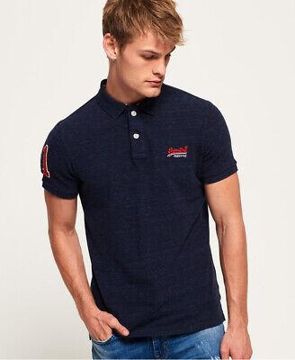 Superdry Mens Classic Pique Polo Shirt