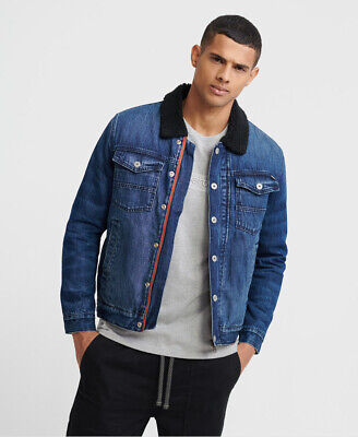 Superdry Hacienda Sherpa Denim Jacket