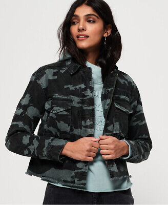 Superdry Womens Riley Cropped Rookie Jacket