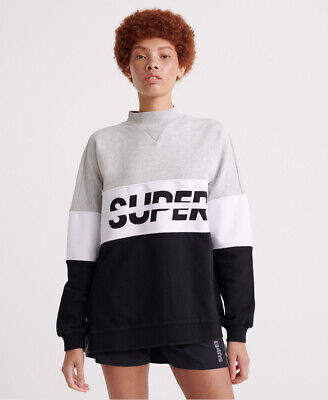 Superdry Womens Sport Pusher Crew