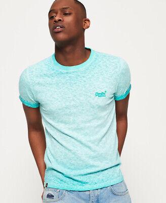 Superdry Mens Orange Label Low Roller T-Shirt