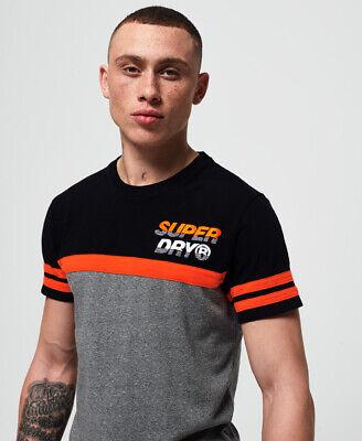 Superdry Mens Applique Nu Lad Cut & Sew T-Shirt