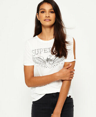 Superdry Womens Midwest Cut Sleeve T-Shirt