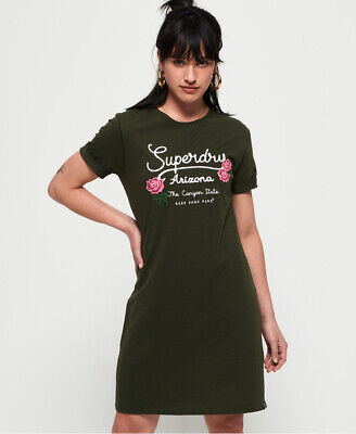 Superdry Womens Graphic T-Shirt Dress