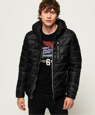 Superdry Mens Diagonal Quilt Fuji Jacket