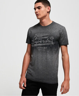 Superdry Mens High Flyers Low Roller T-Shirt