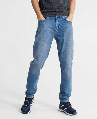 Superdry Mens 05 Conor Taper Jeans