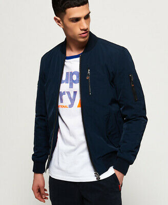 Superdry Mens Sdr Wax Flight Bomber