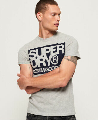 Superdry Mens Denim Goods Co T-Shirt