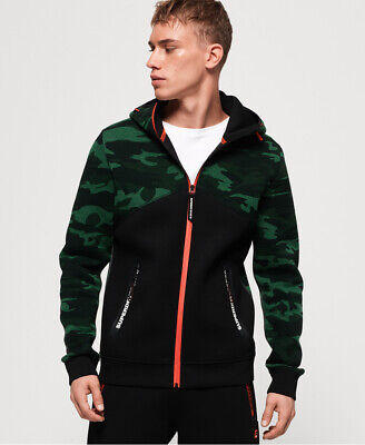 Superdry Gym Tech Spliced Zip Hoodie