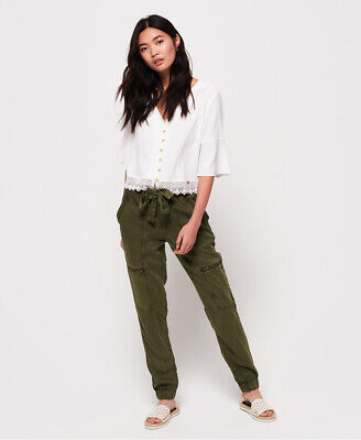 Superdry Womens Lace Rookie Pants