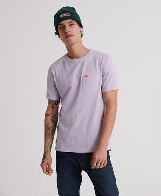 Superdry Mens Dry Originals Pocket T-Shirt