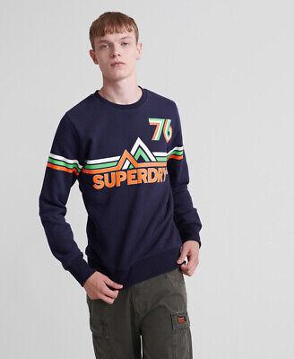 Superdry Mens Downhill Racer Crew Jumper