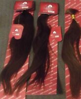 REMY HAIR EXTENSIONS  BROWN Loose Hair