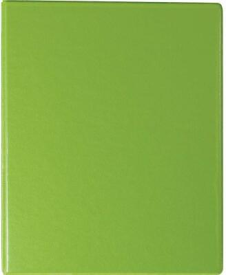 Staples Standard 1 Round Ring Mini View Binder Chartreuse 26323 110155 3 Pack