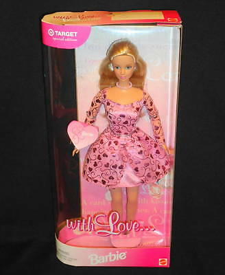 1999 Mattel Barbie With Love Target Special Edition Valentine's Day Doll NRFB