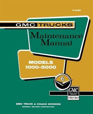 1960 GMC Truck Shop Service Repair Manual Engine Drivetrain Electrical Book OEM