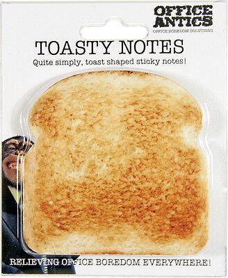 Toasty Notes Desktop Office Novelty Gift Sticky Notes