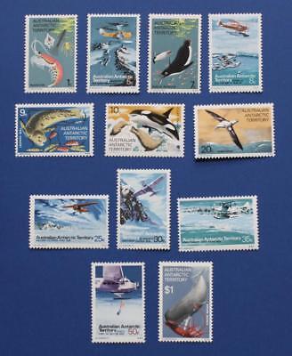AAT (L23-L34) 1973 Australian Antarctic Territory singles set
