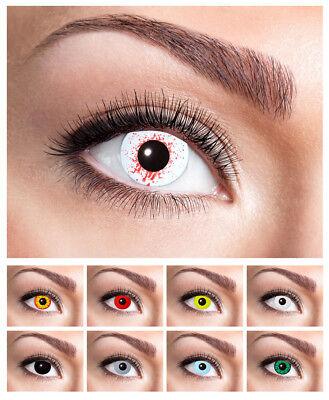 Eyecatcher Dioptrien Motivlinsen farbige Jahreslinsen Kontaktlinsen - 1 Stück