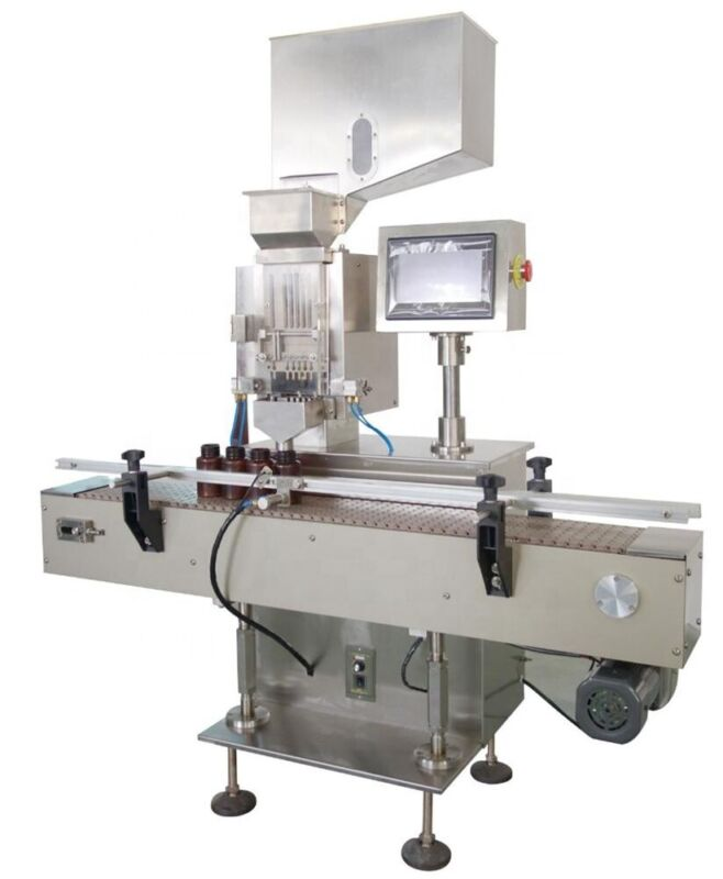 Capsule Counting Machine Size 000-5 with Conveyor for Filling Packing Capsules