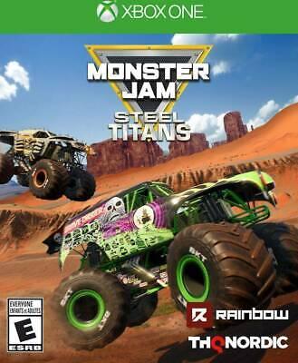 Monster Jam Steel Titans - Xbox One Brand New Sealed