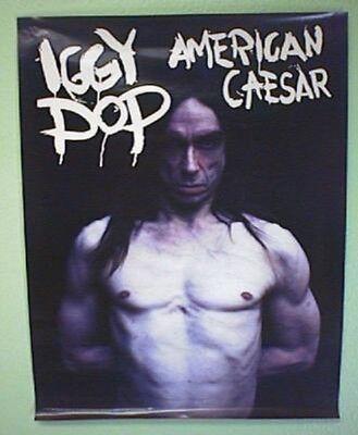 IGGY POP - American Caesar - 1993 - Promo Poster