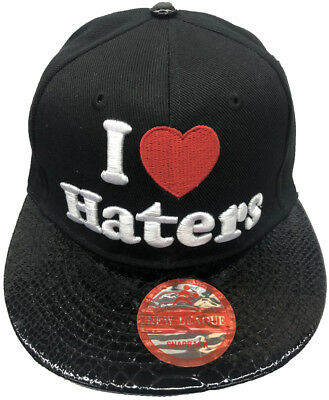 I LOVE HATERS Embroidered Snapback  Adjustable Baseball Cap/Hats LOT Of 12pcs