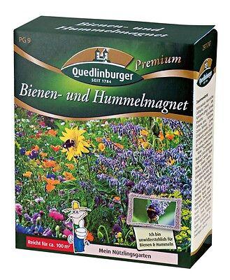Bienenwiese Hummelmagnet Saatgut Blumensamen für 100 m² Saat Bienenweide Garten