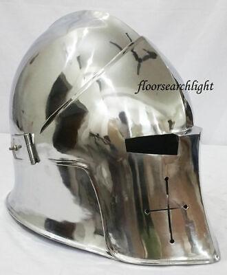 REPLICA GA18 Super Medieval Barbuta Armor Roman knight Inner Liner Helmet  (Knight Helmets)