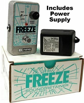 New Electro Harmonix Freeze Sound Retainer Guitar Effects Nano Pedal Ehx