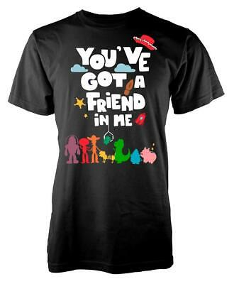 Toy Story You've Got A Friend In Me Buzz Woody Adult T Shirt