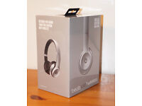 """Beats Solo 2 Wireless Bluetooth Headphones - New Unopened - """"Special Edition Space Gray"""""""