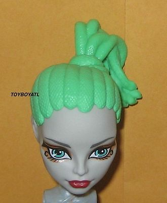 Monster High Create a Gorgon/Medusa Pink Blob Girl Doll Wig Set CAM Snake Hair